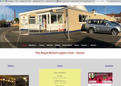 The Royal British Legion Club – Street